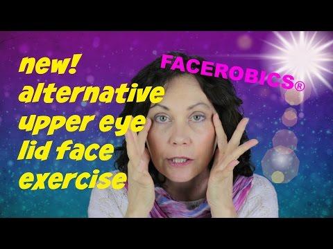 Hooded Eyelid Lift Droopy Eyelid Lift No Eyelid Surgery Face Exercise | FACEROBICS® Exercise Program