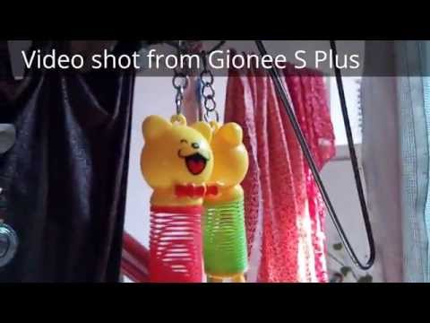 Gionee S Plus camera sample images and video