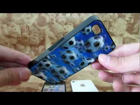 iPhone 4S iPhone 4G Cases - 3D Football iPhone Case.flv