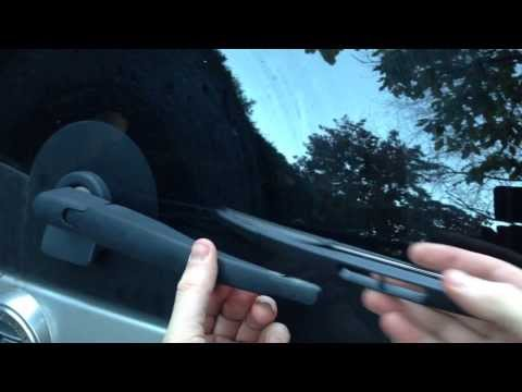 HOW TO: Ford Escape / Mercury Mariner / Mazda Tribute Rear Windshield Wiper Replacement (2008-12)