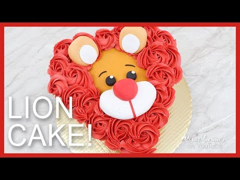 King of Hearts Lion Cake   Renee Conner