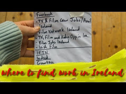 How to find WORK in Ireland