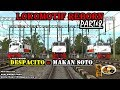 "LOKOMOTIF REBORN PART 8 ""DESPACITO=MAKAN SOTO"" TRAINZ SIMULATOR 2009 INDONESIA"