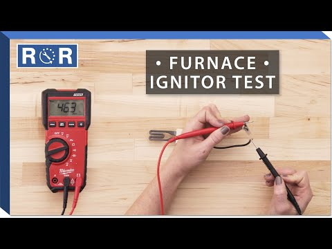Nordyne # 903758 - Continuity Test (Gas Furnace Ignitor)