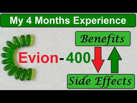 Evion 400 : Vitamin E Capsules Uses , Side Effects and My Experience of Taking This In Hindi
