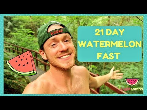 MY 21 DAY WATERMELON FAST EXPERIENCE 🍉