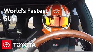 "Toyota Land Cruiser: Toyota Land Speed Cruiser Claims ""World's Fastest SUV"" Title | Toyota"