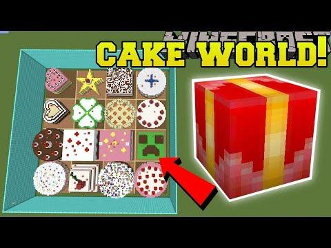 Minecraft: CAKE WORLD HUNGER GAMES - Lucky Block Mod - Modded Mini-Game