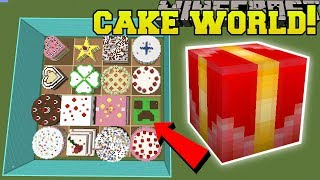Minecraft: CAKE WORLD HUNGER GAMES - Lucky Block Mod - Modded Mini-Game