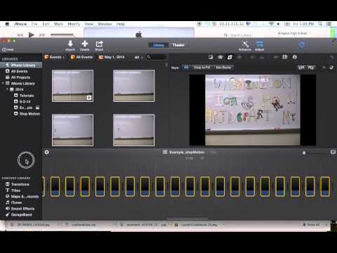 StopMotion Tutorial iMovie