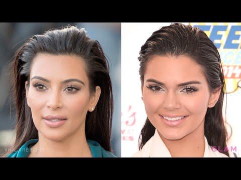 Get Slicked Back Hair like Kim Kardashian | Hair Report