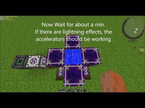 Minecraft Tutorial: How to use Crystal Growth Accelerators