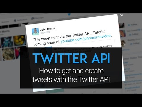 Twitter API Tutorial: How to Create and Get Tweets Using PHP and the Twitter API
