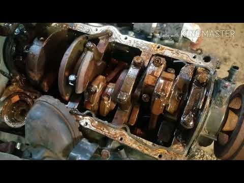 How to Disassembly a Car Motor, to Diagnose failure.