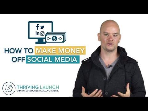 How To Make Money Off Social Media