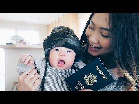 Baby Got His Passport! | HAUSOFCOLOR