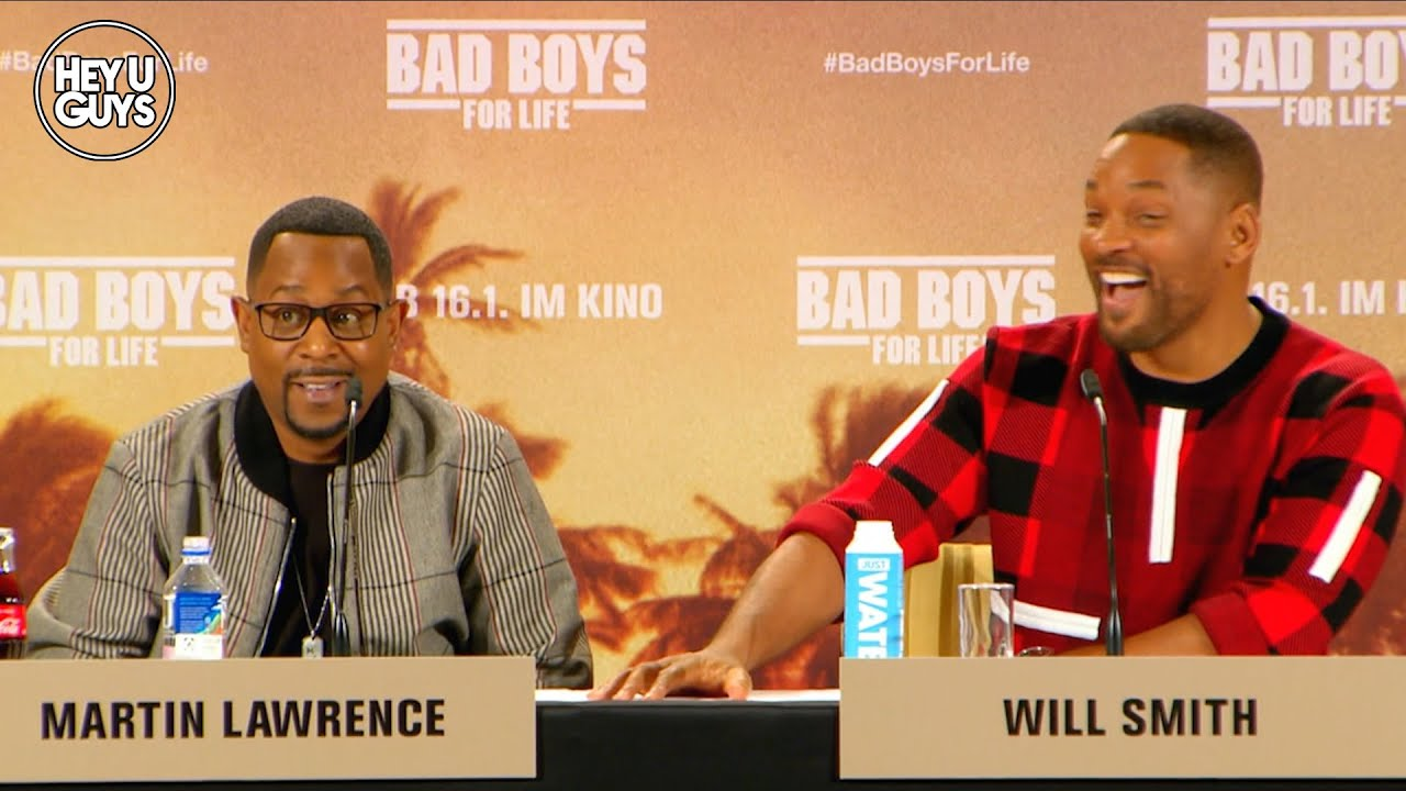 Bad Boys for Life (Bad Boys 3) Press Conference - Will Smith & Martin Lawrence