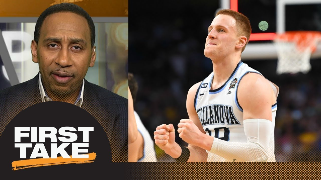 Stephen A. calls Villanova's Donte DiVincenzo 'absolutely sensational'   First Take   ESPN