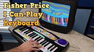"""Destruction of the Fisher Price """"I Can Play"""" keyboard and review"""