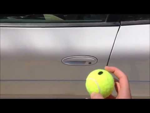 How to Unlock a Car with a Tennis Ball