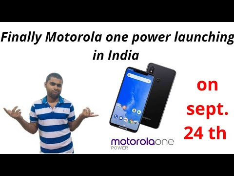 Motorola one power specifications and  launch date