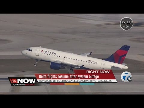 Delta flights resume after global system outage