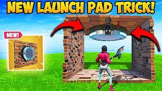 *NEW* EPIC LAUNCH PAD TRICK!! - Fortnite Funny Fails and WTF Moments! #567