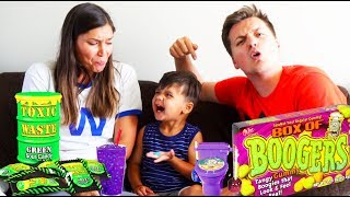 EXTREME SOUR CANDY TOXIC WASTE CHALLENGE!