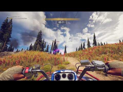 Far cry 5 - Mooseknuckle Run - ATV Race - Clutch Nixon