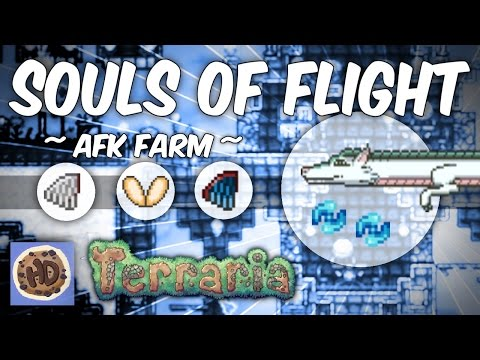 Terraria 1.3 Souls of Flight Farm | Wyvern Farm | Wings