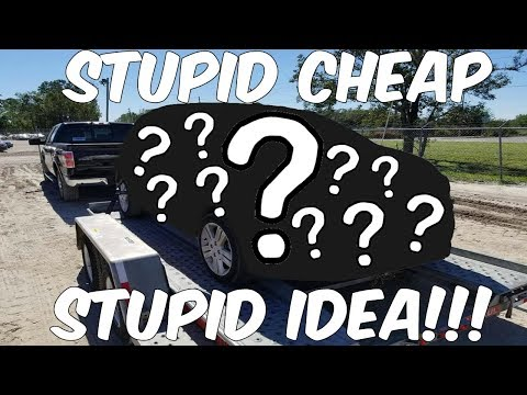 I bought a FLOOD Car from the Salvage Auction REALLY CHEAP *BAD Idea*