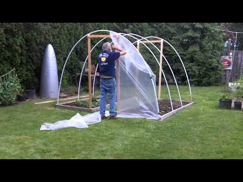 Build a Hoop House in 1 minute 10 seconds