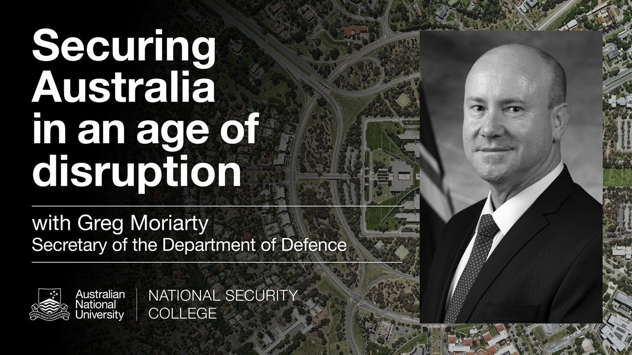 Defence Secretary Greg Moriarty in conversation: Securing Australia