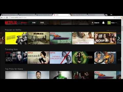 Hola VPN Unblocker Netflix Tutorial