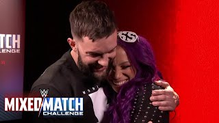Kurt Angle pairs Finn Bálor with Sasha Banks for WWE Mixed Match Challenge