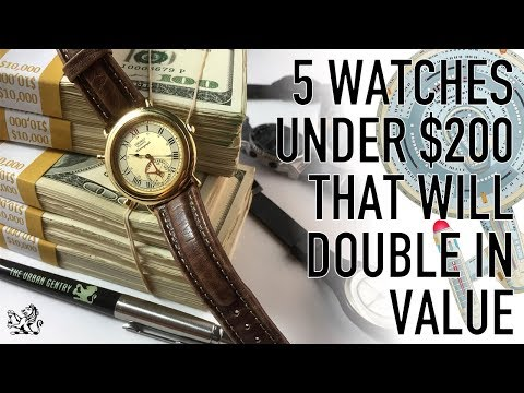 5 Watches Under $200 That Will Double In Value - From Star Trek To Retro Chic & Modern Art