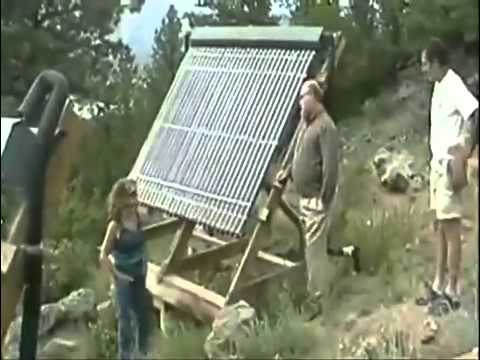 DIY Homemade Solar Energy Hot Water System