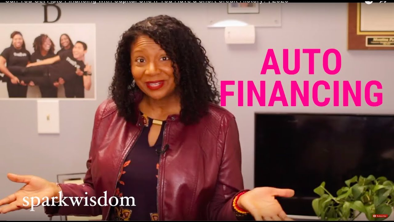 Can You Get Auto Financing with Capital One If You Have a Short Credit History | 2020