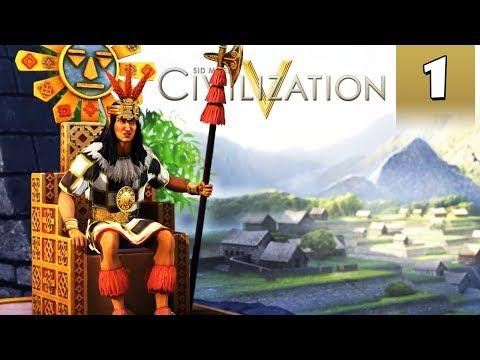 Civilization 5 Vox Populi #1 - Inca Gameplay