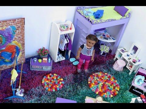 American Girl Doll Bedroom!