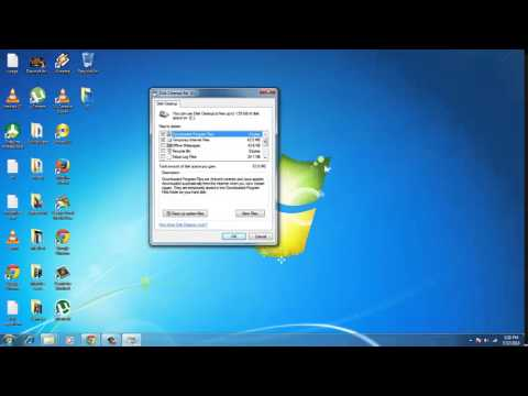 Disk Cleanup utility in windows 7 /8.1 / XP