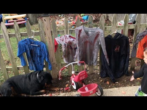 How to Make Zombie Clothes for Halloween