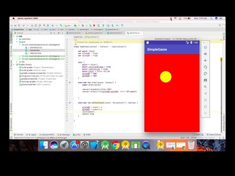 How to Create a Simple Android Game using Kotlin - Beginner Tutorial 1