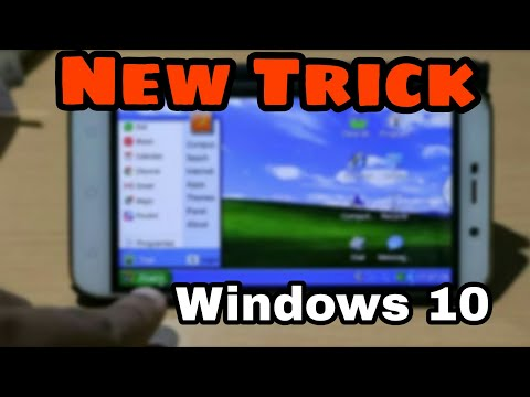 Install & Run Windows 10/8/7/XP on Any Android Phone- NO ROOT 2017 BEST Trick