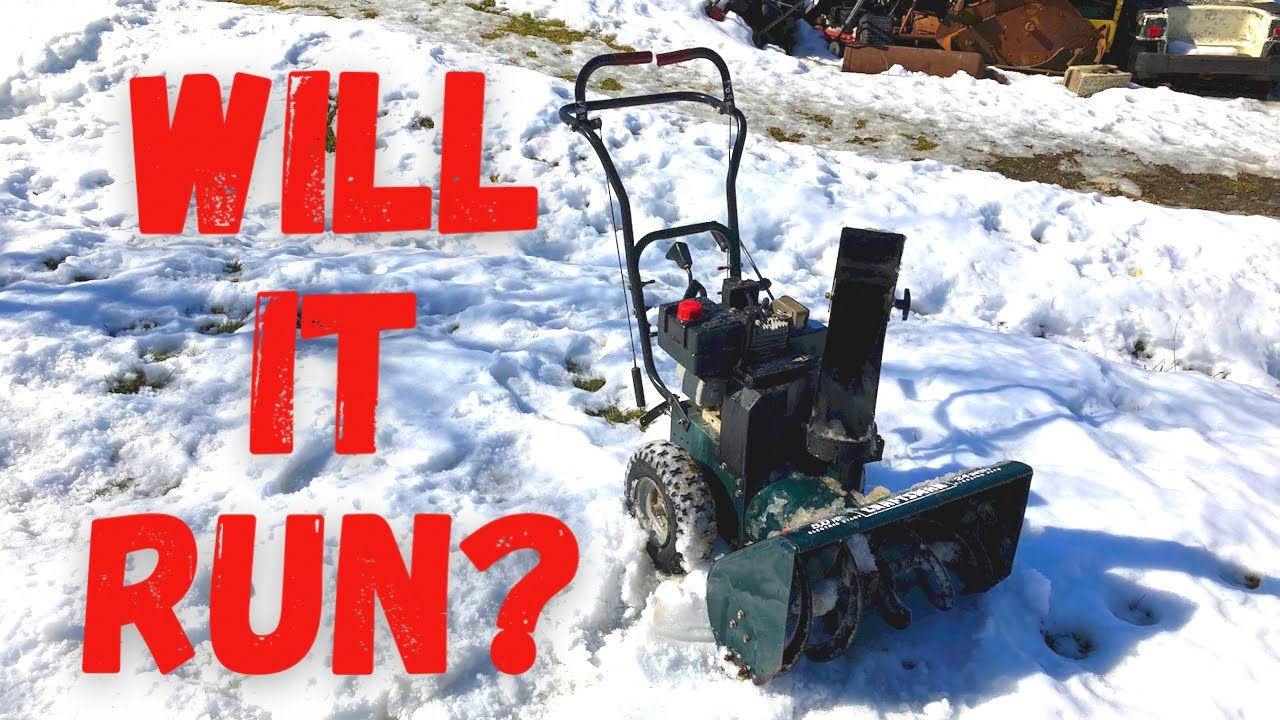 $25.00 Marketplace Snow Blower! How Bad is it???