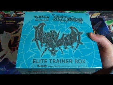 Pokémon TCG: Sun & Moon Ultra Prism Elite Trainer Box  Dawn Wings Necrozma Unboxing