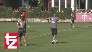 Thiago-Aktion im Training: Pep Guardiola mächtig sauer - FC Bayern München