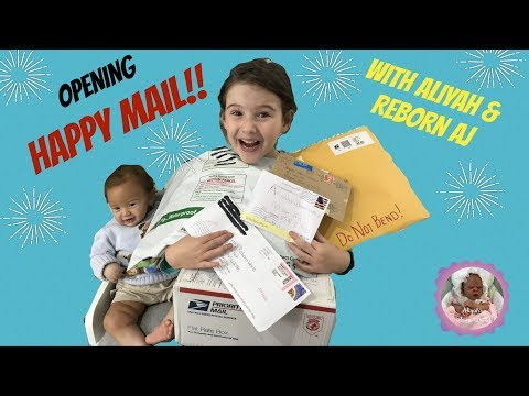 OPENING HAPPY MAIL WITH ALIYAH AND REBORN AJ