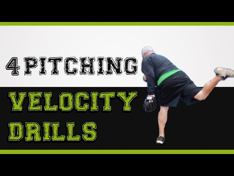 4 pitching velocity drills you can start doing today to pitch faster!