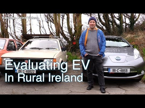 An electric vehicle in rural Ireland : EV #1
